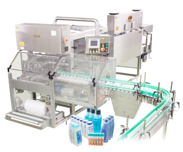 Automatic Print Film Shrink Wrap Machine