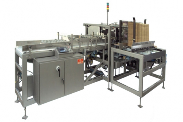 Full Wrap Around Combination Tray & Case Packer Machine